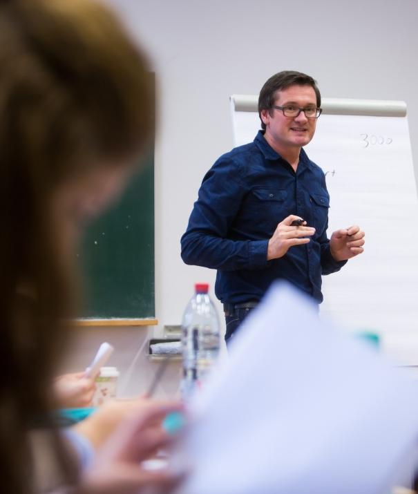 Lehrveranstaltung_Grundlagen des Journalismus © Universität Freiburg Baschi Bender