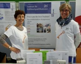 Informationsstand des ZfS © Universität Freiburg - ZfS