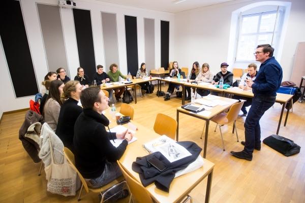 Lehrveranstaltung_Grundlagen des Journalismus © Universität Freiburg - Baschi Bender