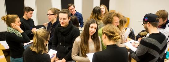 Lehrveranstaltung Grundlagen des Journalismus © Universität Freiburg - Baschi Bender